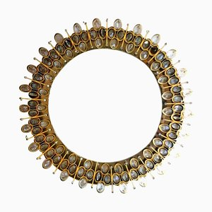 Specchio retroilluminato di Ernst Palme per Palwa, anni '60