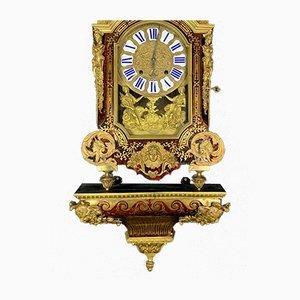 Antique Louis XIV Monumental Cartel Clock