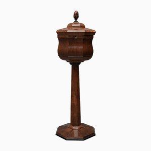 Austrian Walnut Wood Side Table, 1850