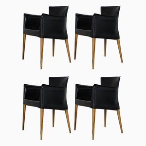 Vintage Armchairs by Carlo Bartoli for Matteo Grassi, Set of 4