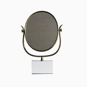 Italian Marble & Glass Mirror, 1950s