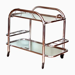Art Deco Bar Trolley by Robert Mallet-Stevens, 1930s