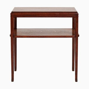 Art Deco Oak Console Table, 1930s
