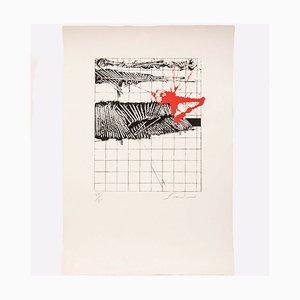 Emilio Scanavino, Lithografie, 1970er