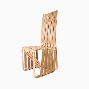Chaise Haute Sticking par Frank O. Gehry pour Knoll Inc. / Knoll International, 1994