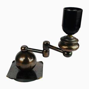 Vintage Art Deco Bronze Table Lamp