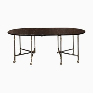 Model Royal Extendable Dining Table from Maison Jansen, 1950s