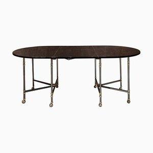 Table de Salle à Manger Extensible Modèle Royal de Maison Jansen, 1950s