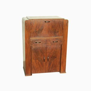 Small Biedermeier Art Deco Rosewood Secretary, 1920s