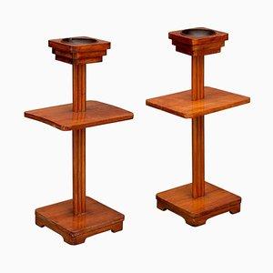 Tables Basses Art Déco, France, 1920s, Set de 2
