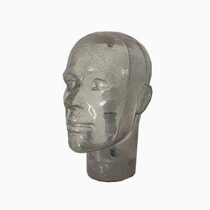 Plexiglass Head, 2004