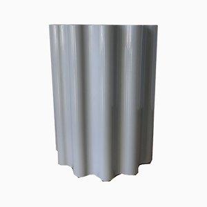 Puf columna gris de Ettore Sottsass para Kartell, 2005