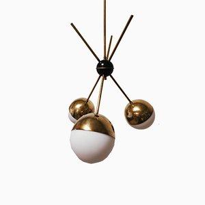 Vintage Half Sphere Chandelier
