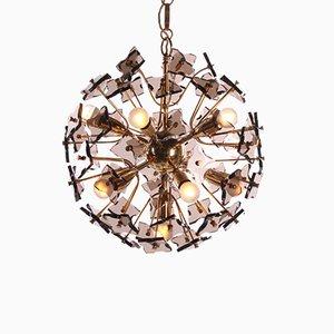 Vintage Sputnik Hanging Lamp, 1960s