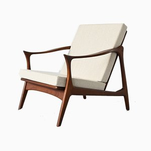 Lounge Chair by Fredrik A. Kayser for Vatne Møbler, 1960s