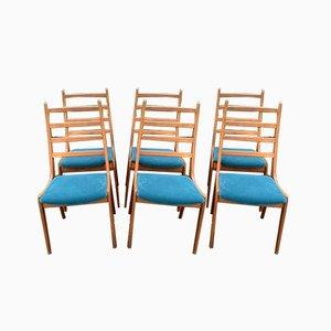 Danish Dining Chairs by Kai Kristiansen, 1960s, Set of 6