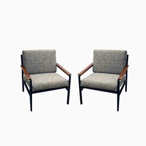 Armchairs from ISA Bergamo, 1960s, Set of 2