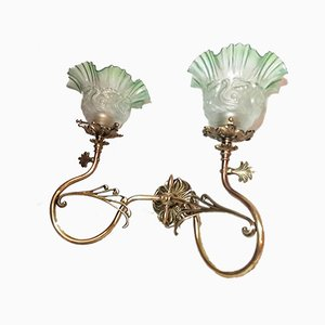 Art Deco Bronze Sconce, 1930s
