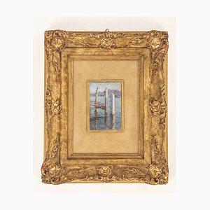 Lidio Ajmone, olio su tela, 1928