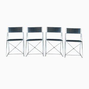 Vintage Nuova X Olmi Line Esszimmerstühle von Magis, 4er Set