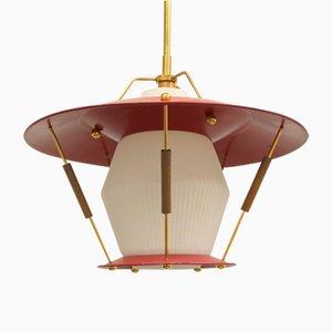 Lampada da soffitto vintage, Francia, anni '50