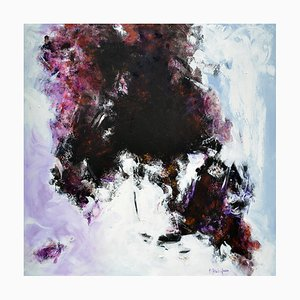 Antonietta Reschiglian, In der Ankündigung des neuen Tages, 2018, Gemälde