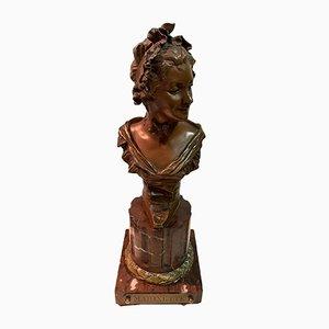 Georges Van der Straeten, Figur, Bronze