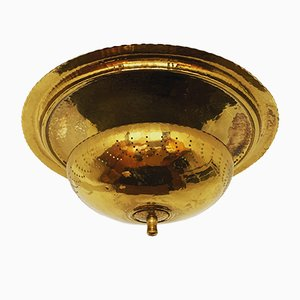 Brass Ceiling Lamp, 1950s