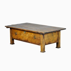 Antique Pine Coffee Table, 1900s