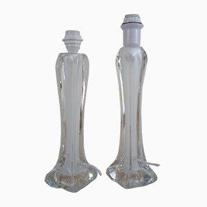 Mid-Century Coquille Tischlampen von Paul Kedelv für Flygsfors, 2er Set