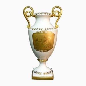 Porcelain & 24kt Gold Vase from Finzi, 1930s