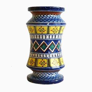 Antique Ceramic Apothecary Vase from Minardi