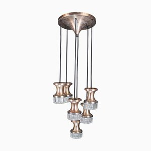 Vintage Ceiling Lamp with 6 Light Points
