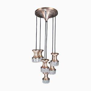Vintage Deckenlampe mit 6 Lichtpunkten