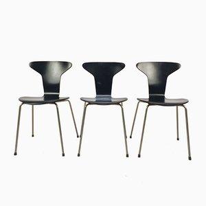Mid-Century Modell 3105 Mosquito Stuhl von Arne Jacobsen für Fritz Hansen, 1960er
