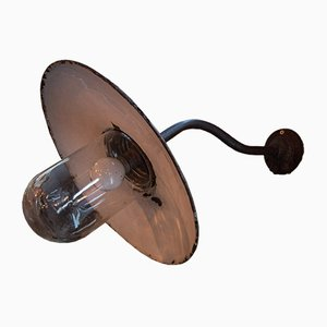 Lámpara de patio antigua