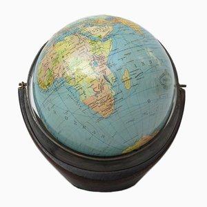 Small Terrestrial Globe from Columbus Verlag Paul Oestergaard, 1950s