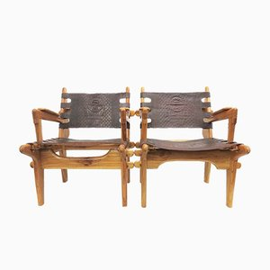Mid-Century Armchairs by Angel I. Pazmino for Muebles de Estilo, Set of 2
