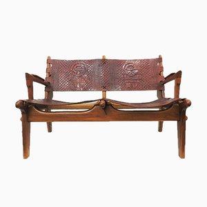Mid-Century 2-Seater Sofa by Angel I. Pazmino for Muebles de Estilo