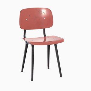 Silla Revolt en rojo de Friso Kramer para Ahrend the Circle, años 50