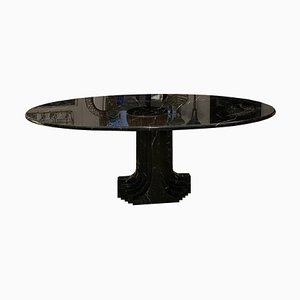 Model Argo Oval Table by Carlo Scarpa for Simon Furniture, 1970s
