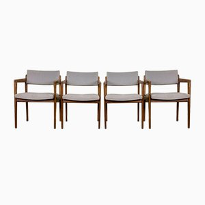 Teak Dining Chairs from Thonet, 1960s, Set of 4