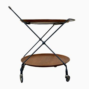 Swedish Teak String Trolley from Gantofta, 1960s