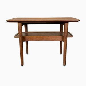 Danish Teak Side Table from Bramin, 1960s