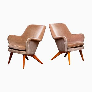 Chairs by Carl Gustav Hiort af Ornäs for Puunveisto Oy-Trasnideri, 1952, Set of 2