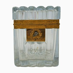 19th Century Crystal Box from Baccarat