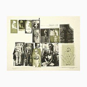 Sergio Barletta, Eros e Thanatos, 1970, Lithographie