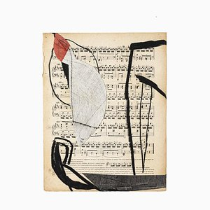 Tommaso Cascella, Musical Notes, 2009, Mixed Media