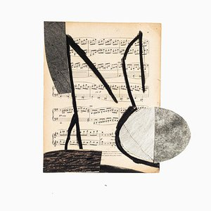 Tommaso Cascella, Musical Notes, 2009, Mixed Media
