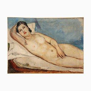 Donato Frisia, Nude of Woman, 1930, Oil on Canvas